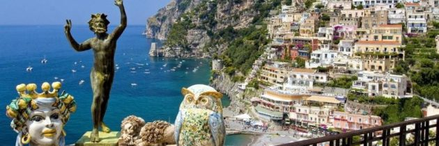 Positano, Wine Tasting and Pompeii